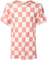 The Elder Statesman chequered T-shirt