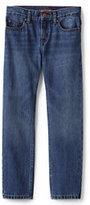 Classic Toddler Boys Iron Knee Slim Fit Denim-Rinse Wash Denim