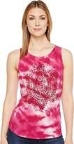 Lucky Brand Women's Lotus Tie Dye Tank Top