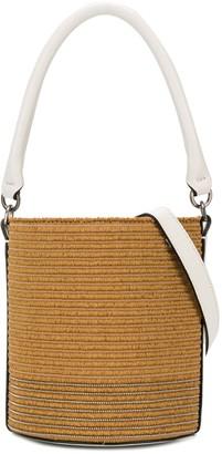 BRUNELLO CUCINELLI KIDS Contrast Handle Bucket Bag