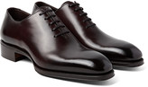 Tom Ford - Gianni Burnished-leather Oxford Shoes