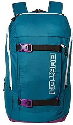 Burton Kilo 2.0 27L Solution Dyed Backpack (Deep Lake Teal) Backpack Bags