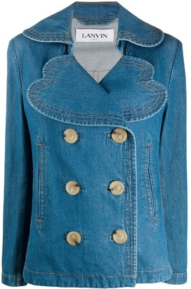 Lanvin Oversized Denim Jacket