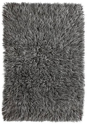 nuLoom Flokati Greek Luxury Plush Salt N Pepper Area Rug