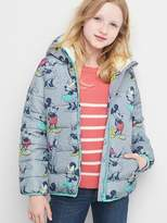 Gap GapKids | Disney Mickey Mouse and Minnie Mouse cozy puffer hoodie
