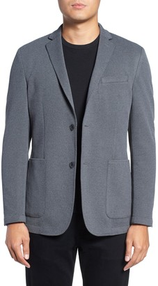 Vince Camuto Two Button Notch Lapel Stretch Knit Slim Fit Sport Coat