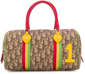 Christian Dior 2004 pre-owned Rasta Collection Boston bag