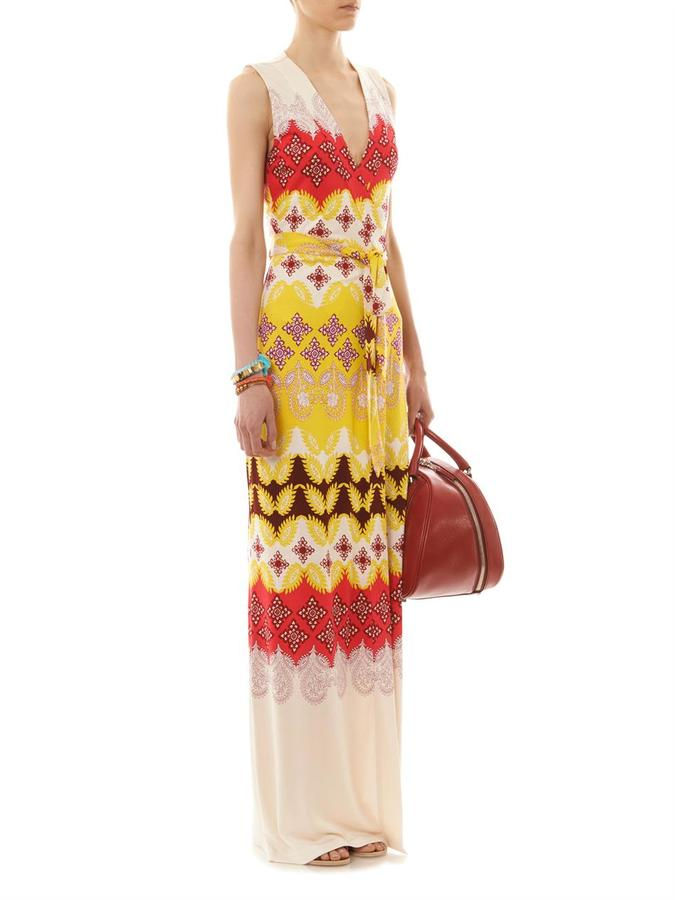 Diane von Furstenberg New Yahzi Long dress