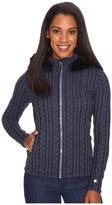 Obermeyer Sadie Cable Knit Jacket Women's Coat