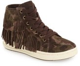 Geox Girl's 'Aveup' High Top Sneaker