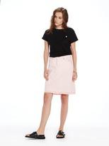 Scotch & Soda Pink Denim Skirt