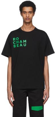 Rochambeau Black Core Logo T-Shirt