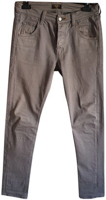 HTC Khaki Spandex Trousers for Women