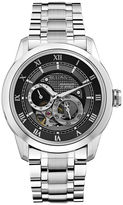 Bulova Mens Silver-Tone Watch 96A119
