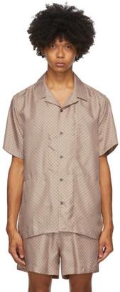 Tiger of Sweden SSENSE Exclusive Pink Riccerde Short Sleeve Shirt