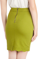 Darling Olive Occasion Skirt