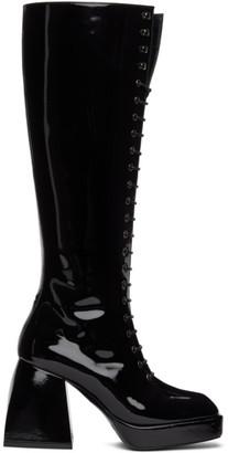 Nodaleto Black Bulla Ward Tall Boots