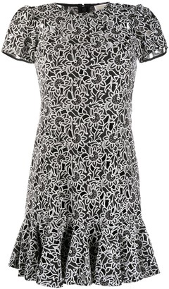MICHAEL Michael Kors Embroidered Floral Dress