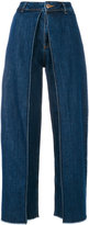 Aalto high waisted flared jeans - women - Cotton - 34