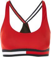 Tommy Hilfiger **Cross Strap Bikini Top