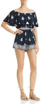 Faithfull The Brand Lane Printed Romper - 100% Exclusive