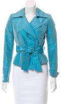 Pauw Belted Silk Blazer