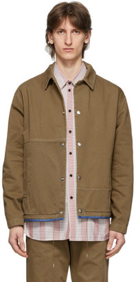 Oamc Tan Cascade Jacket
