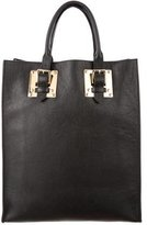 Sophie Hulme Leather Buckle Tote