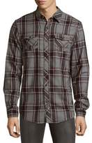 ProjekRaw Plaid Cotton Casual Button-Down Shirt