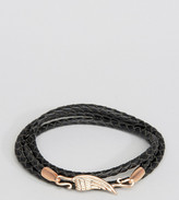 Simon Carter Leather Wing Bracelet