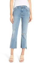 Mother Women's The Insider Crop Bootcut Jeans
