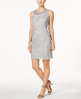 Jessica Howard Crochet Shift Dress