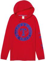 PINK Texas Rangers Campus Hoodie Tee