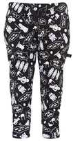 Little Eleven Paris Black Star Wars Sweat Pants