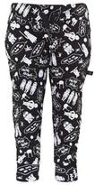 Little Eleven Paris Black Star Wars Sweat Pants