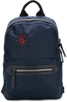 Lanvin embroidered spider backpack - men - Calf Leather/Acrylic/Polyamide/Polyester - One Size