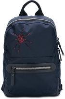 Lanvin embroidered spider backpack