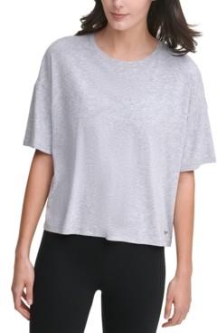 DKNY Cropped T-Shirt