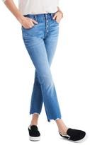 Madewell Women's Cali Demi Boot Jeans