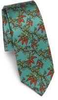 Dolce & Gabbana Floral-Printed Silk Tie