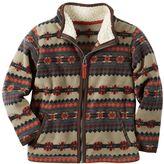 Carter's Baby Boy Patterned Microfleece Zip-Up Jacket