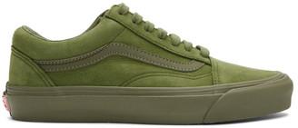 Vans Green Nubuck Old Skool LX Sneakers
