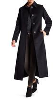 Fleurette Classic Wool Blend Coat