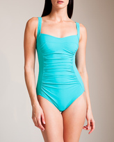Karla Colletto Basic Square Neck Swimsuit