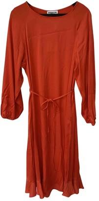 Essentiel Antwerp Red Viscose Dresses