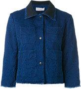 Sonia Rykiel denim jacquard jacket - women - Cotton - 38