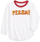 Chaser Toddler Girl's Pizza Time Graphic Tee