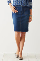 J. Jill Denim Four-Pocket Skirt