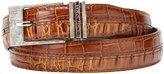 Stacy Adams Men's 30mm Hornback And Croco-Embossed Belt