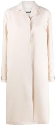 Jil Sander Minimal Buttoned Coat